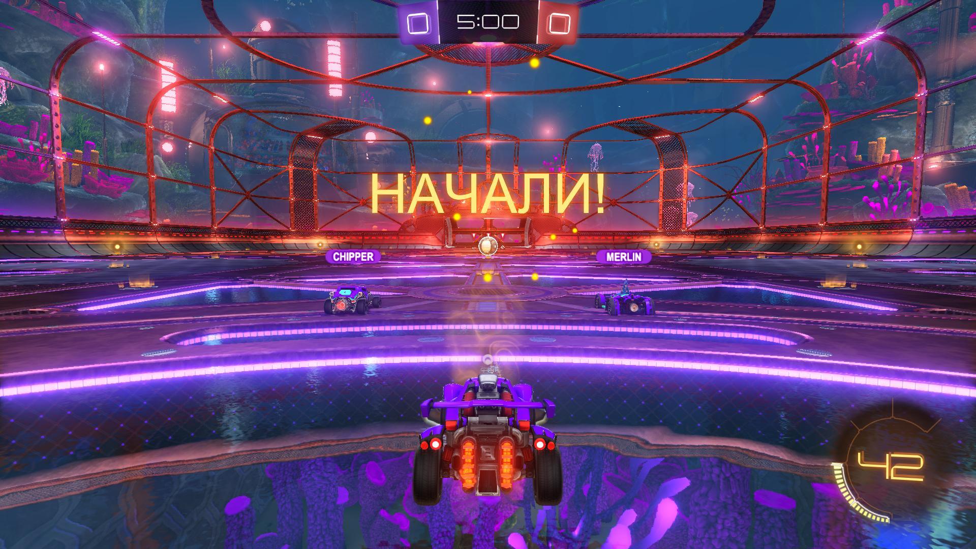 Rocket League [v 1.42 + 19 DLC] (2015) PC