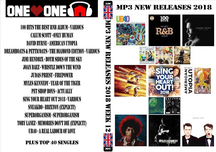 MP3 NEW RELEASES 2018 WEEK 12