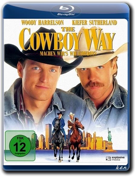 У ковбоев так принято / The Cowboy Way (1994) BDRip 720p