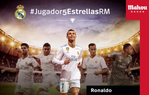 """Роналду - лучший игрок """"Мадрида"""" в марте"""