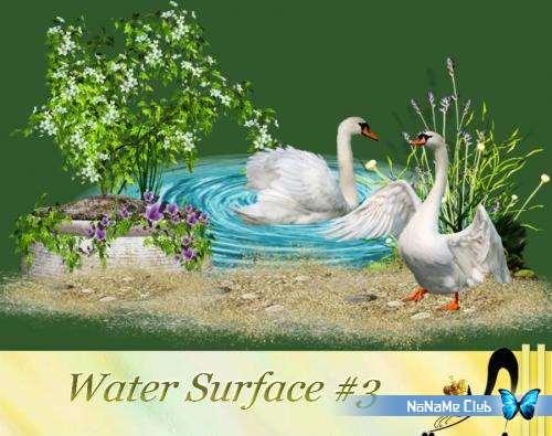 Растровый клипарт - Water Surface #3 [PNG]