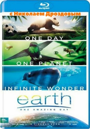 BBC. Земля: Один потрясающий день / Earth: One Amazing Day (2017) BDRemux [H.264/1080p] [VO]