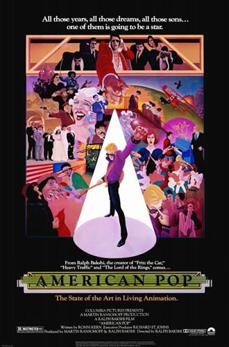 Поп Америка / American Pop (Ральф Бакши / Ralph Bakshi) [1981, США, драма, иностранный, мультфильм, WEB-DLRip] Dub + Sub Eng + original Eng