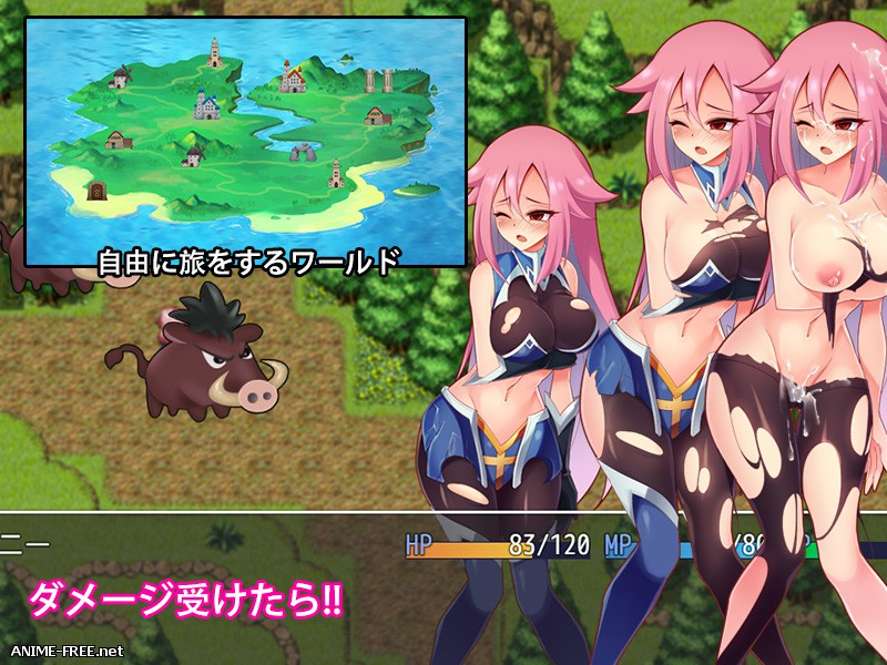 Dungeon Buster -Cydney Quest-  [2018] [Cen] [jRPG] [ENG] H-Game