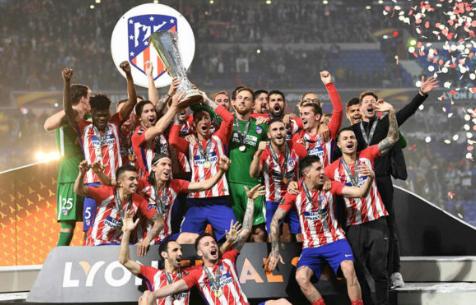 """""""Мадрид"""" поздравил """"Атлетико"""" с завоеванием кубка Лиги Европы"""