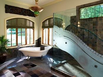 Душевые ограждения – новое слово в дизайне ванной комнаты