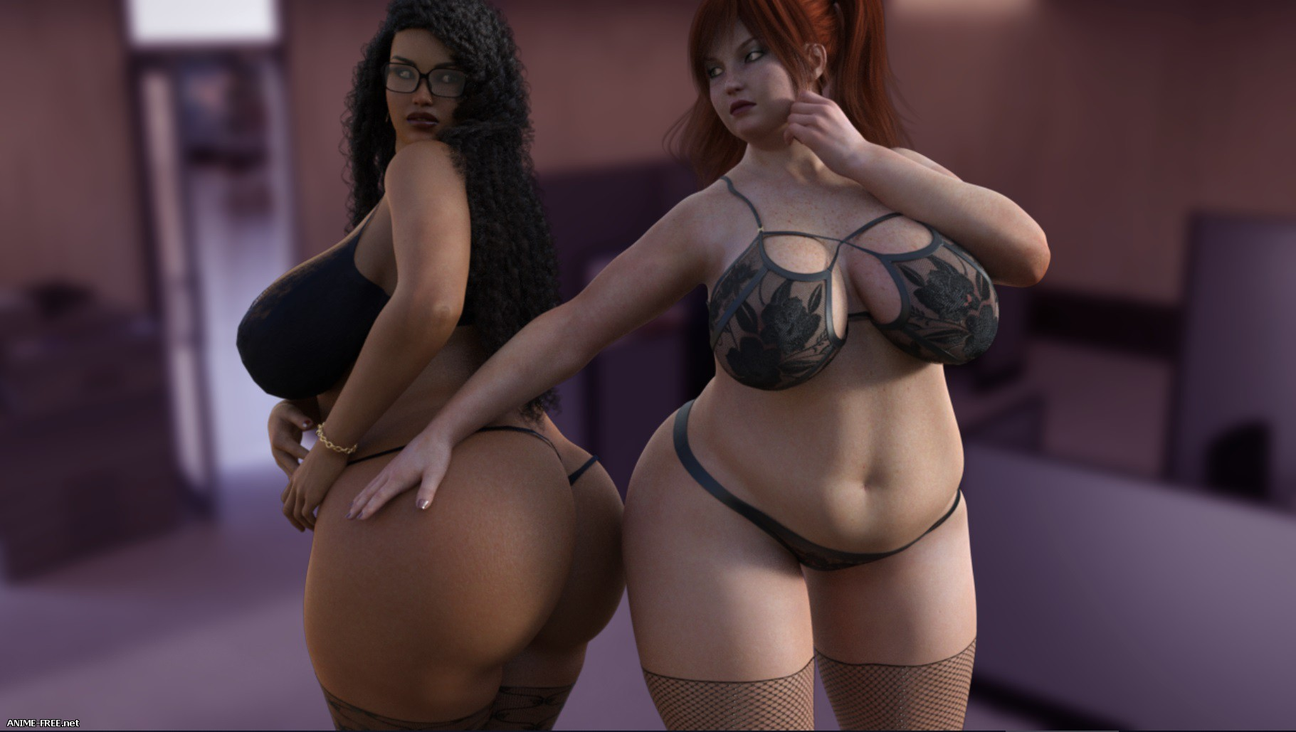 Plump City (My Plump Mom) / Plump City 2 - My Russian Holidays [2018] [Uncen] [ADV, 3DCG] [Android Compatible] [ENG,RUS] H-Game