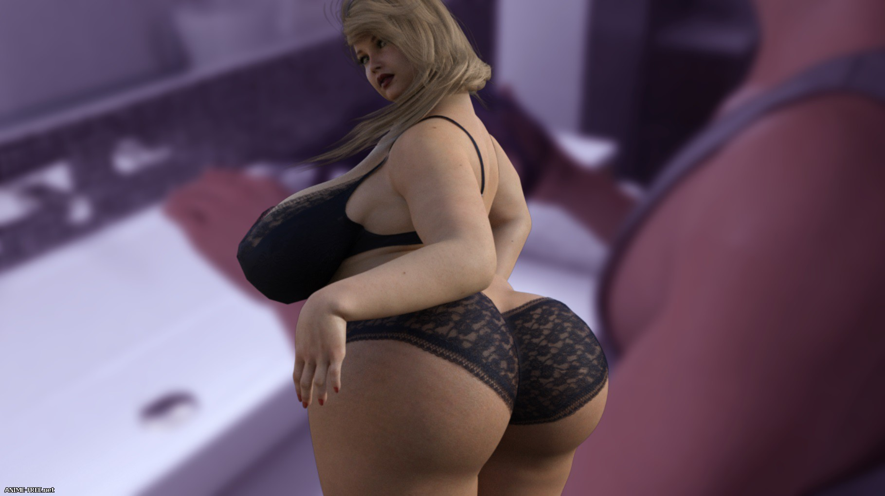 Plump City (My Plump Mom) / Plump City 2 - My Russian Holidays [2018] [Uncen] [ADV, 3DCG] [Android Compatible] [ENG] H-Game