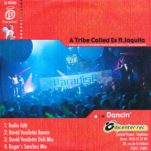 (House) [CDR] A Tribe Called Es ft. Jaquita - Dancin' - 2005, FLAC (tracks+.cue), lossless
