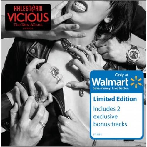 (Hard Rock / Alternative Metal / Female Vocal) Halestorm - Vicious (Walmart Exclusive) - 2018, MP3, 320 kbps
