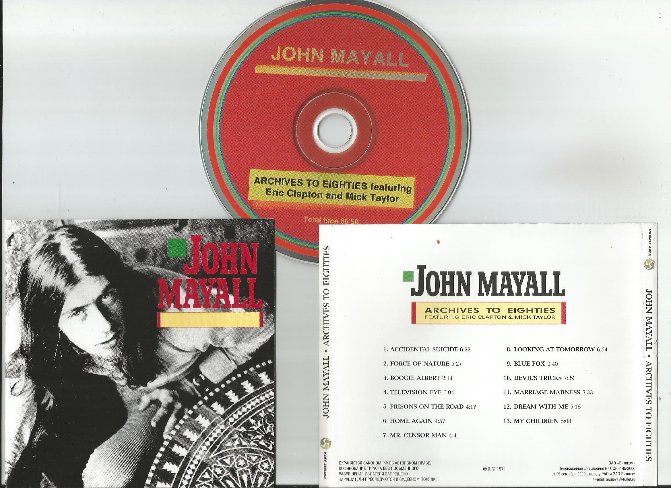 John Mayall Records, LPs, Vinyl and CDs - MusicStack