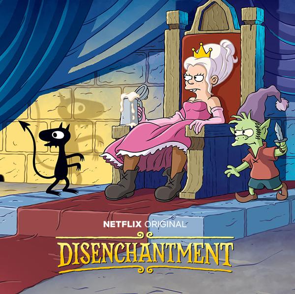 Разочарование / Disenchantment [01x01-05 из 10] (2018) WEBRip 720p | NewStudio
