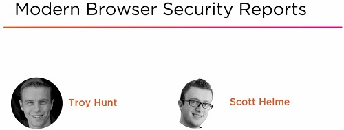 [Pluralsight.com / Troy Hunt / Scott Helme] Modern Browser Security Reports [2018, ENG]