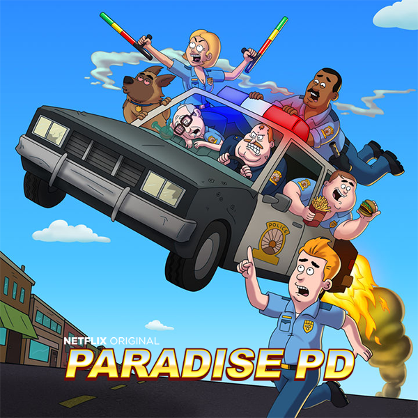 Полиция Парадайза / Paradise PD [01x01-03 из 10] (2018) WEBRip 720p | NewStudio