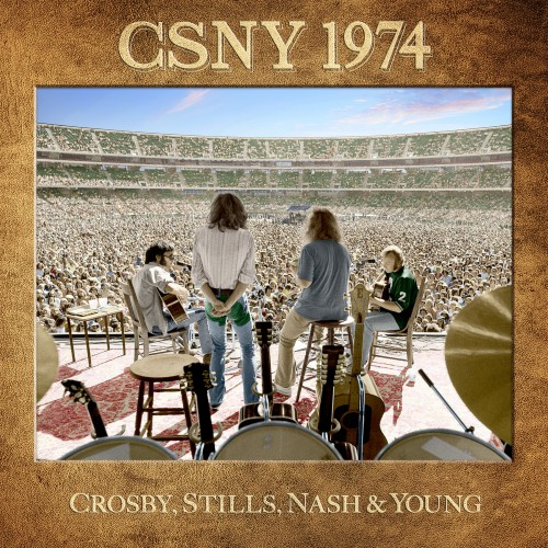 Crosby, Stills, Nash & Young - CSNY 1974 (2016) FLAC...