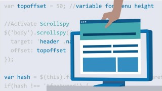 Lynda - Bootstrap 4 Layouts Responsive Single-Page Design [2018, ENG]