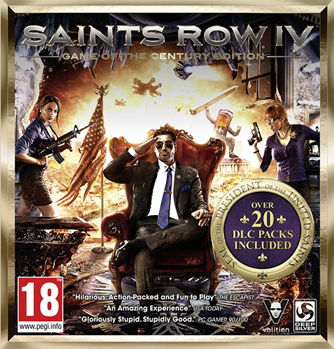 Saints Row 4: Game of the Century Edition (2014) PC | Repack