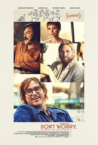 Dont Worry He Wont Get Far on Foot 2018 720p BRRip X264 AC3-EVO