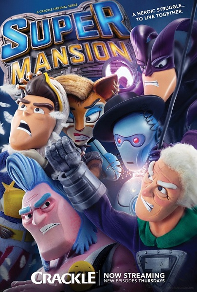 Суперособняк / SuperMansion [S03] (2018) WEBRip | ColdFilm