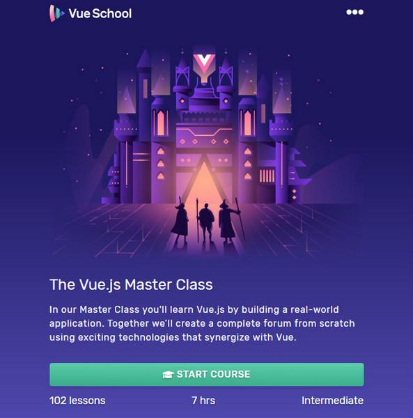 [VueSchool.io] The Vue.js Master Class [2018, ENG]