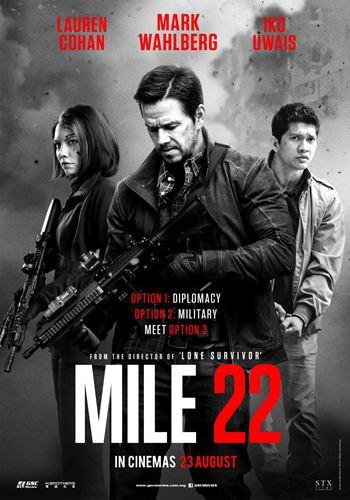 22 мили / Mile 22 (2018) WEBRip [UKR, EN]