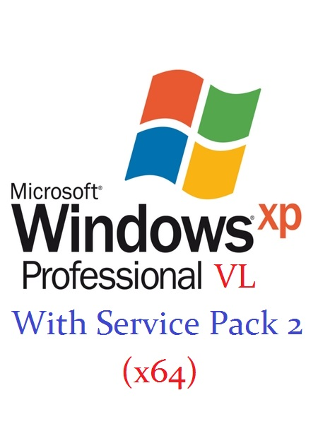 Windows XP Professional VL With Service Pack 2 (x64) ISO (English) MSDN