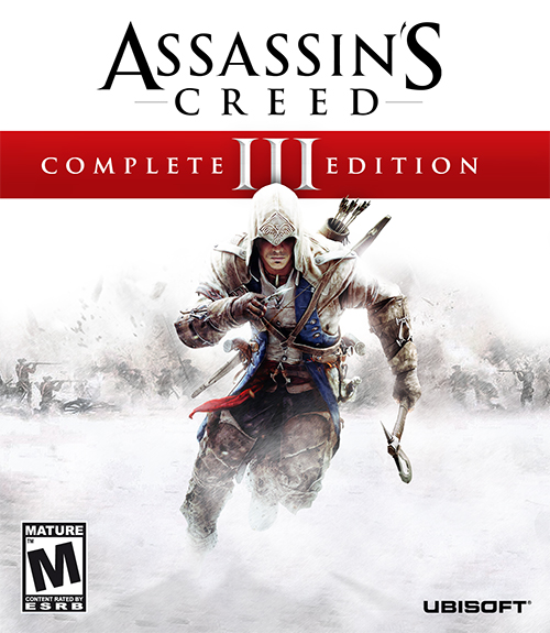 [XBOX360] Assassins Creed III Complete Edition [FULL][GOD][RUS / RUSSOUND][+DLC]