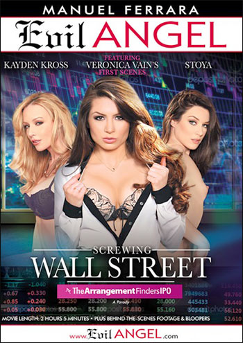 Evil Angel - Оттраханные на Уолл-стрит / Screwing Wall Street: The Arrangement Finders IPO (2015) DVDRip |