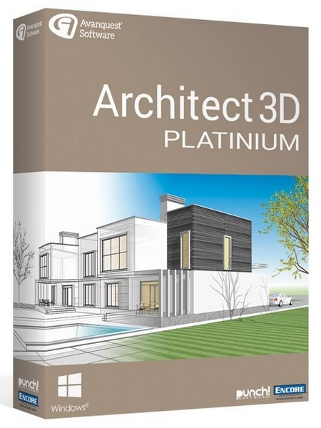 Avanquest Architect 3D Platinum v20.0.0.1022