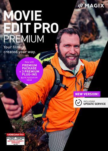 MAGIX Movie Edit Pro Premium 2019 v.18.0.1.213 + Content Pack Repack by AZBUKASOFTA [Multi/Ru]