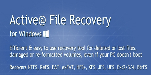 Active@ File Recovery v18.0.6