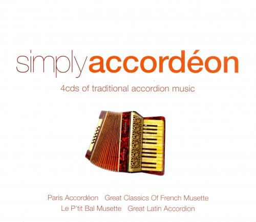 VA - Simply Accordeon (2013) 4CD Box Set [FLAC|Lossless|image + .cue]<Accordion, Instrumental>