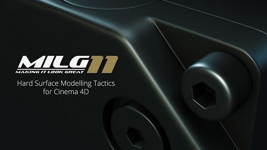 Helloluxx.com   MILG11. Hard Surface Modelling Tactics for Cinema 4D (2016) PCRec [H.264] [RU/EN]