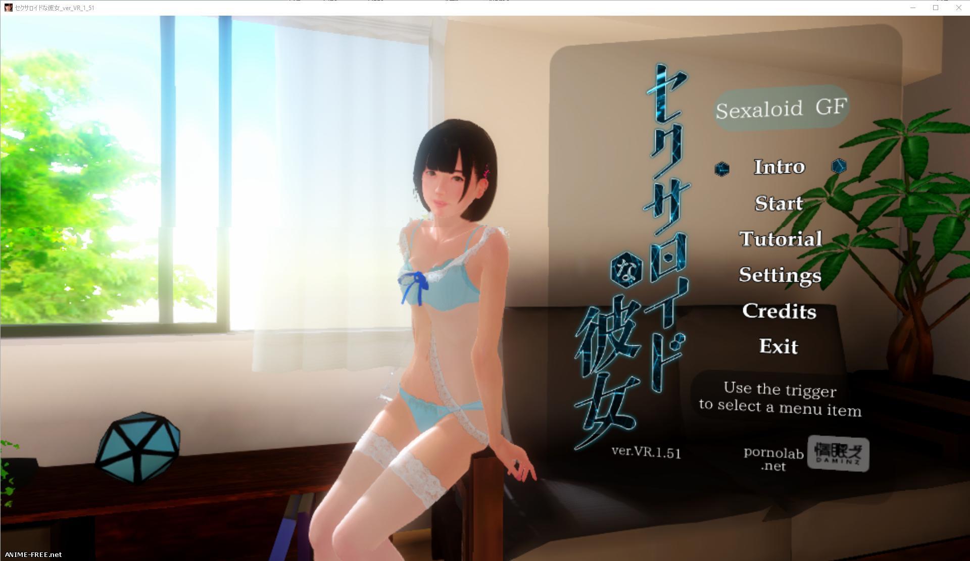 Sexaloid Girlfriend [VR version] / Моя девушка - секс-андроид [VR версия] [2017] [Uncen] [3DVR, SLG] [JAP,ENG] H-Game