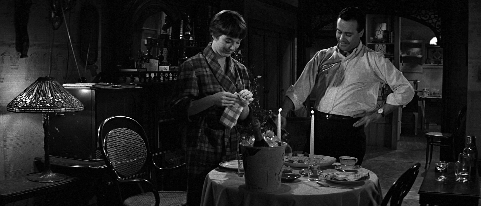 Квартира / The Apartment (1960/BDRip) 1080p