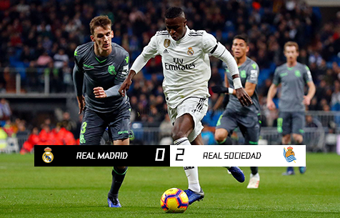 Real Madrid C.F. - Real Sociedad S.A.D. 0:2
