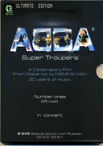 ABBA - Super Troupers Ultimate Edition (2004, 2xDVD5, DVD9)
