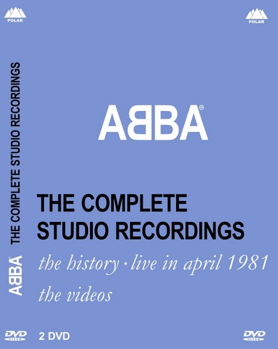 ABBA - The Complete Studio Recordings (2005, DVD5, DVD9)