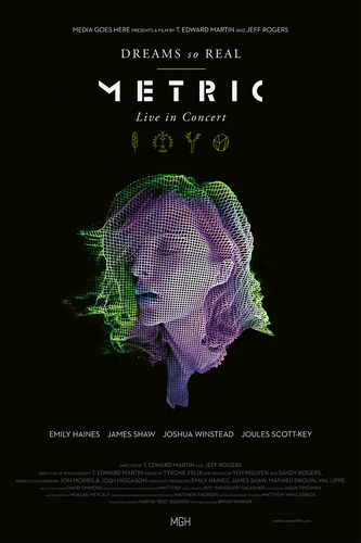 Metric - Dreams so Real - Live In Concert (2018, Blu-ray)
