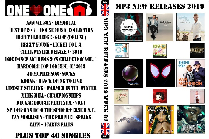 MP3 NEW RELEASES 2019 WEEK 02