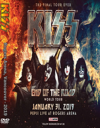 Kiss - Tour: End of the Road. Rogers Arena (2019, DVD5)