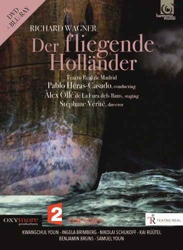 Richard Wagner - Der Fliegende Hollander (2018, Blu-ray)