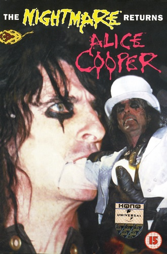 Alice Cooper - The Nightmare Returns (1986, DVD9)