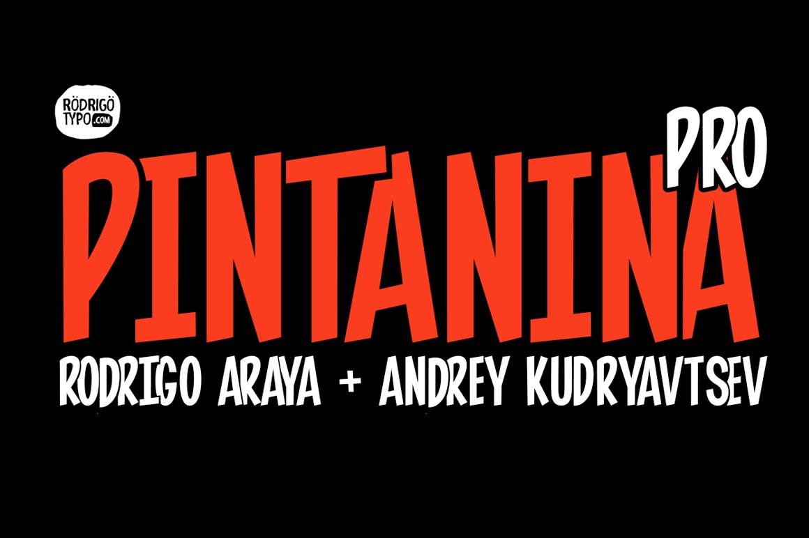 Шрифт Pintanina