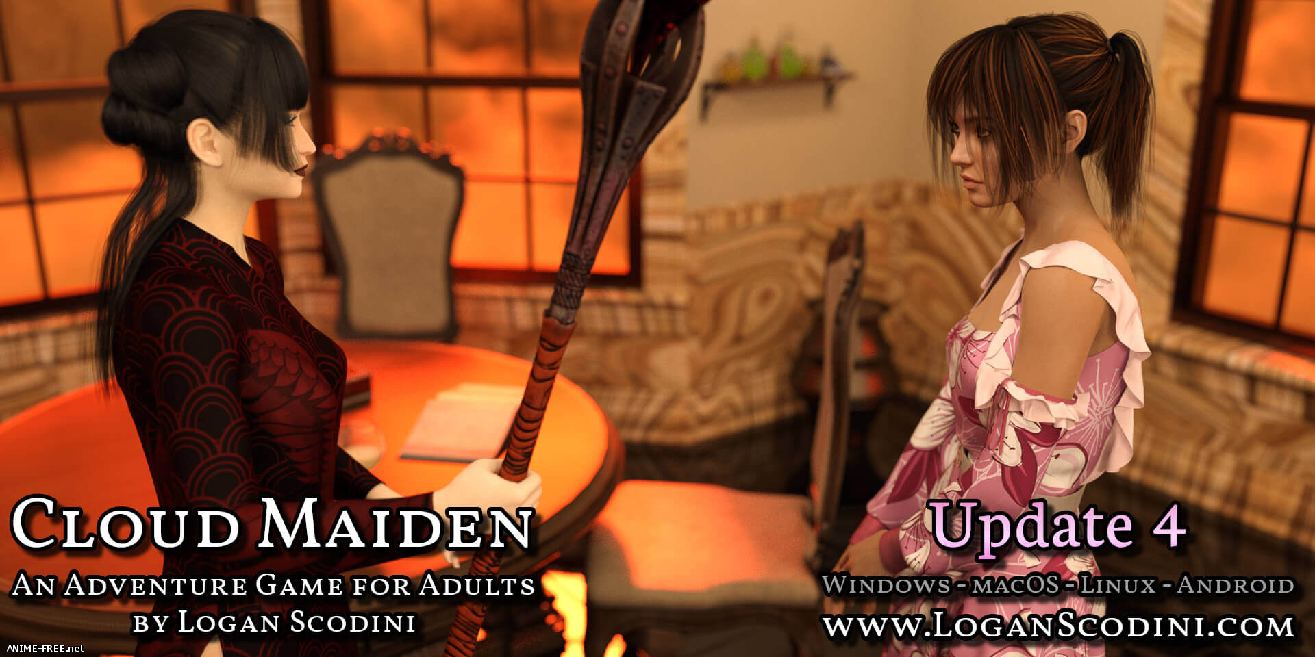 Cloud Maiden [2018] [Uncen] [ADV, 3DCG, Animation] [Android Compatible] [ENG] H-Game