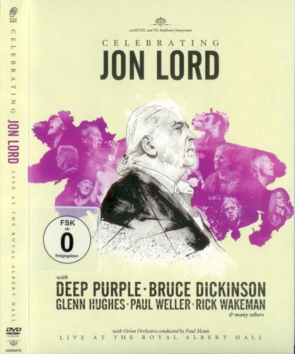 Celebrating Jon Lord - Live at The Royal Albert Hall (2014, 2xDVD9)