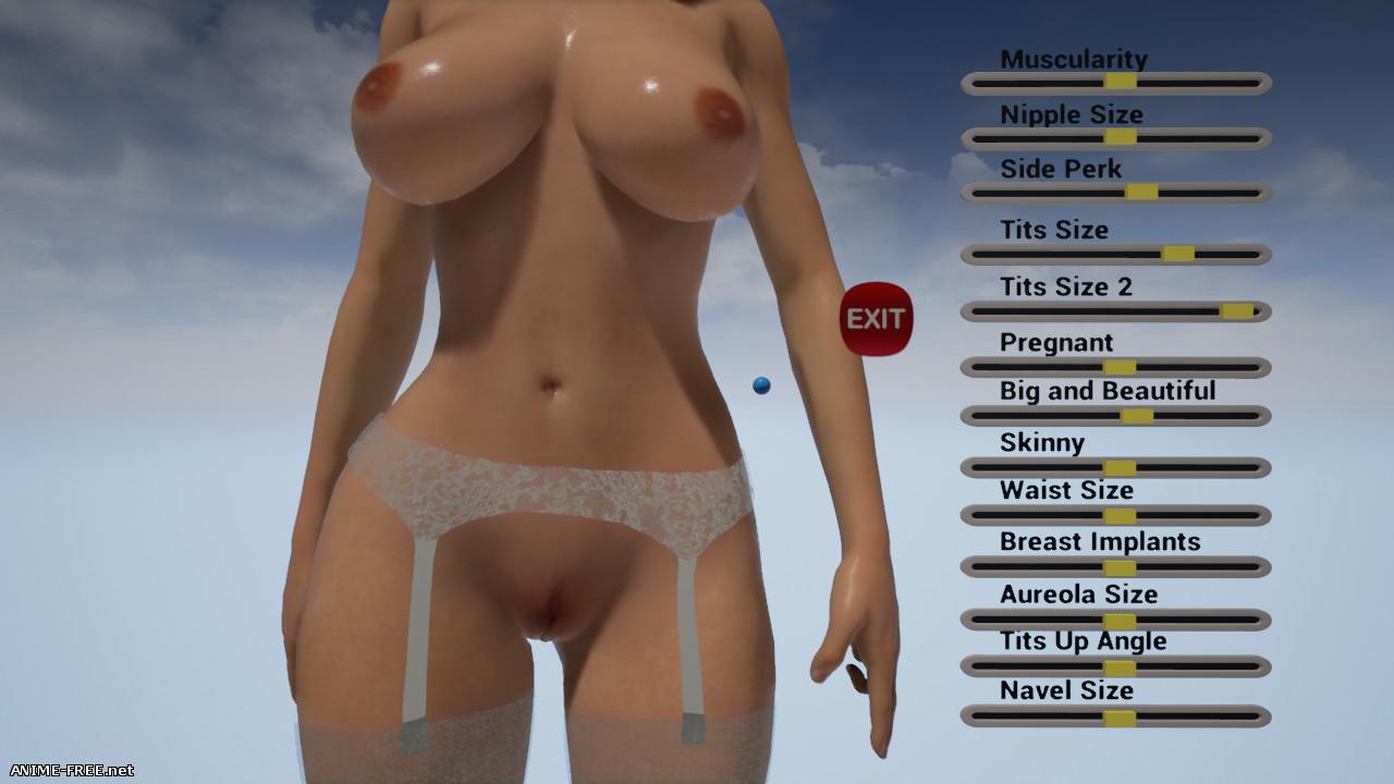 VR Titties [2016-2020] [Uncen] [3D, SLG, Constructor] [ENG] H-Game