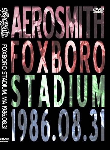 Aerosmith - Foxboro 1986 (2019, DVD5)