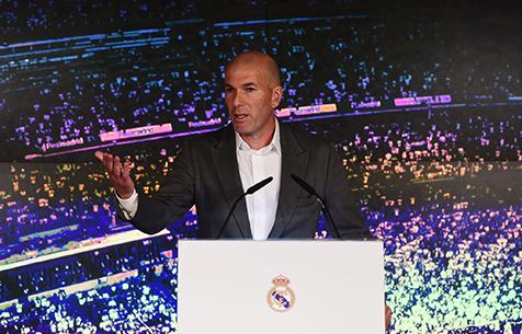 """Зидан: """"Рад снова вернуться в """"Мадрид"""""""