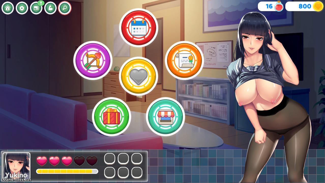 Hentai Crush [2019] [Uncen] [ADV, Dating Sim] [JAP,ENG] H-Game